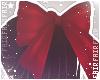 F. Babydoll Bow Red