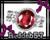 *RD* Rose Red Cameo lft