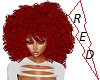 Red Curly Afro