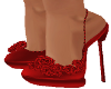 VNCIA RED FLOWER SHOES