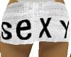 short white SEXY
