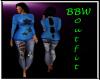 BBW Blue Winter set