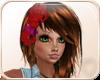 !NC Tiki Hair Flower Red