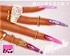 $ Purple Passion - Nails