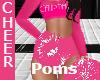 Pink Icebreaker Pompoms