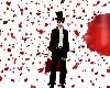 Tuxedo Mask rose rain