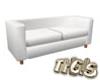 Couch Modern (white)