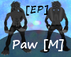 [EP]~Dark~Foot Paws [M]