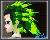 Echidna Punk Green