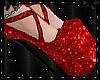 Sparkle Heels Red