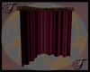 Burgundy Corner Curtains