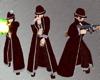 Gothic Mobster Coat