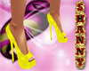 Fantasy Yellow Heels