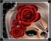 Hair Roses Red