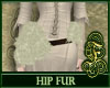 Hip Fur White