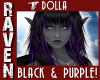 DOLLA BLACK & PURPLE!