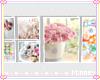 ♡ Flowery frames