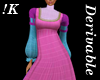 !K! Derive Empire Gown 2