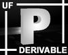 UF Derivable Letter P