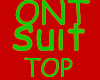 ONT Green Suit TOP
