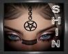 Pentagram Head Chain