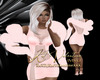 Chantilly Boa Dress