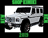 2019 G-Wagon 4x4 White
