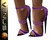 ~V~Lovia Heels Dk Purple