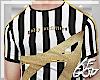 "Ⱥ"" Stripes Top"