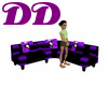 *DD*JACK PURPLE COUCH