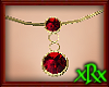 Double Ruby Necklace