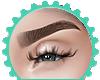 { Eyebrows Brown }