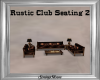 Rustic Club Seating 2