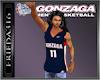 (F) Gonzaga Jersey