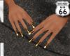 SD Leopard Gold Nail