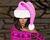 Pink Santa Hat (F)