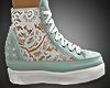 ^^Lace  Sneakers