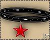 Star Black & Red Choker
