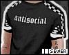 $ antisocial tee