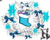 Christmas Wreath Blue