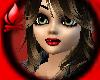 ~Red Lips + Blk Eyelnr~