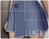 [Is] Denim Flap Skirt 2