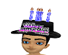 Birthday Hat Black (M)