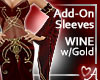 .a Elven Sleeves Wine
