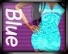 ocean blue diamond dress