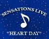 Sensations Live Heart