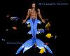 """DR"" Blue Lagoon Merman"