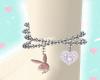 ankle layerable bracelet