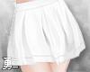 Y' Cute White Skirt