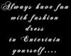 (KRM) Fashion quote 3